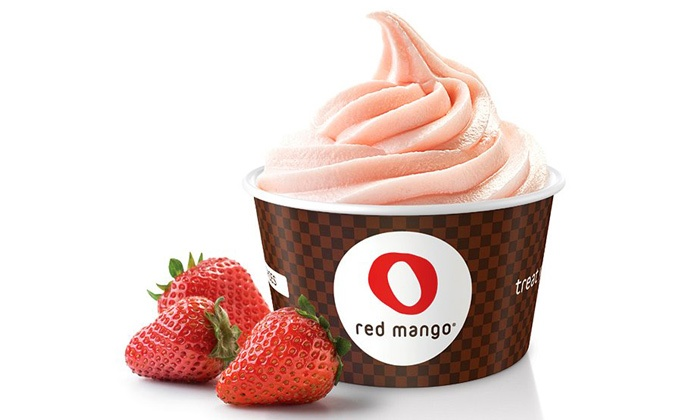 Red Mango - Hoboken: $12 for Four Groupons, Each Good for $5 Worth of Frozen Yogurt and Juices at Red Mango ($20 Total Value)