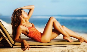Frenchie Tans: Two Custom Airbrush Tanning Sessions at Frenchie Tans (68% Off)