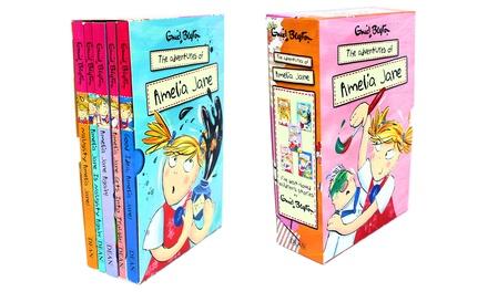 Enid Blyton The Adventures of Amelia Jane Five Books Collection...