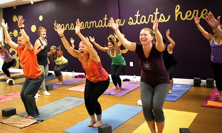 $25 for One Month of Unlimited Yoga Classes at Honest Soul Yoga ($139 Value)