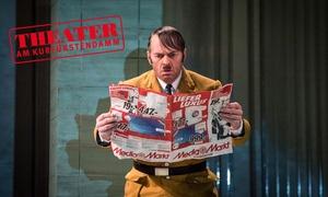 """Komödie & Theater am Kurfürstendamm: 2 Tickets für """"Er ist wieder da"""" mit Getränken, Programm und Garderobe im Theater am Kurfürstendamm"""