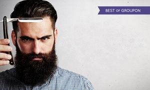 Westend Barbers: Men's Grooming Package With Brandy or Whiskey for €29 at Westend Barbers (43% Off)