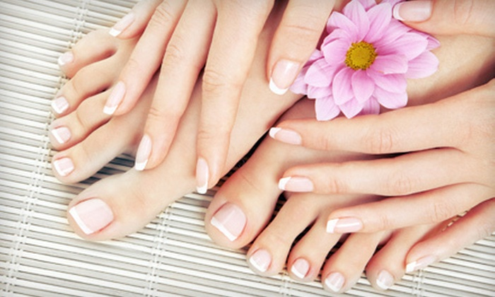 Charlie's East Coast Hair Designs - Brookfield: One or Two Spa Mani-Pedis at Charlie's East Coast Hair Designs in Brookfield (Up to 67% Off)