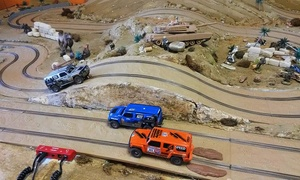 Races2U: One-Hour of Mini Slot Car Racing for One, Two, or Four at Races2U (Up to 54% Off)