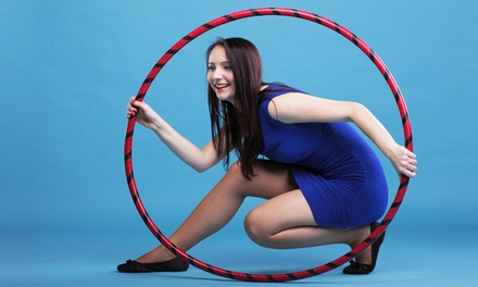 Three or Six Drop-In Hoop Dance Classes with Blu Skye Hoops (50% Off)