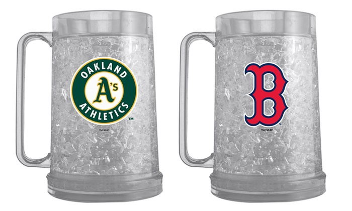 2-Pack of MLB Freezer Mugs: 2-Pack of 16oz. MLB Freezer Mugs