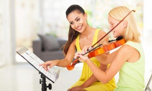 Hollywood Music: One Private Piano, Guitar, or Voice Lesson at Hollywood Music (44% Off)
