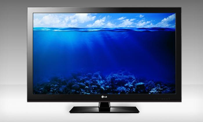 "LG 47"" Class 1080p 120Hz LCD TV (47CS570): $549.99 for an LG 47"" Class 1080p 120Hz LCD TV (47CS570) ($899.99 List Price). Free Shipping and Returns."