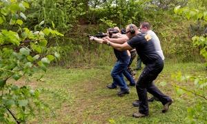 Akademia Obrony Saggita: Warsztaty strzelania bojowego pod okiem wykwalifikowanych instruktorów od 279,99 zł w Akademii Obrony Saggita (do -60%)