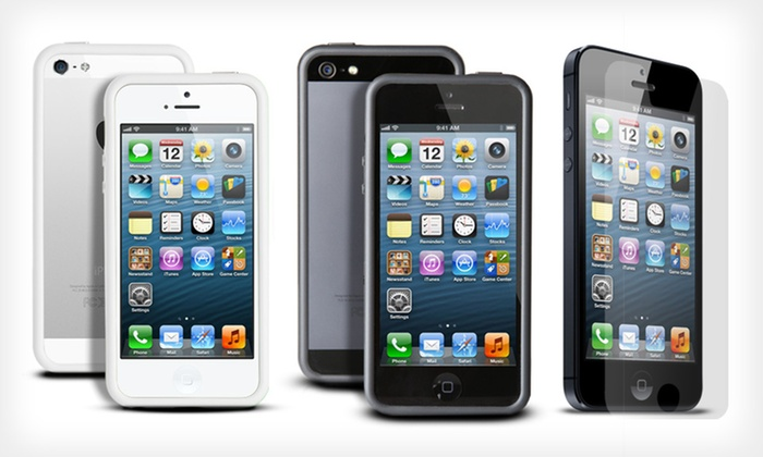 where is my phone iphone iphone 5 protection bundle groupon goods 4494