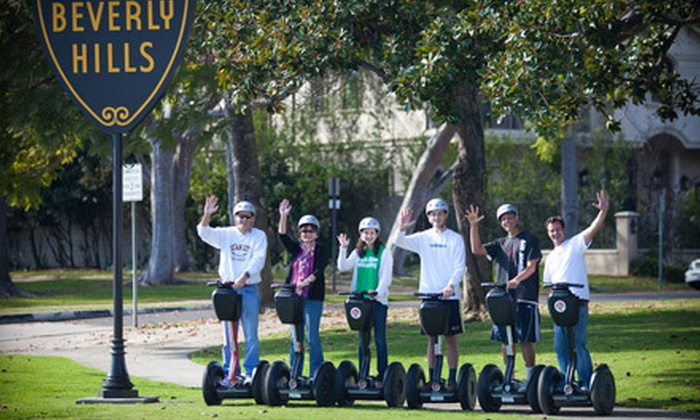 Another Side Of Los Angeles Tours - Mid-Wilshire: $49 for a Beverly Hills or La Brea Tar Pits Guided Segway Tour from Another Side Of Los Angeles Tours ($149 Value)