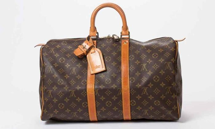 96142960e30 Sac de voyage Keepall Louis Vuitton seconde main   Groupon Shopping