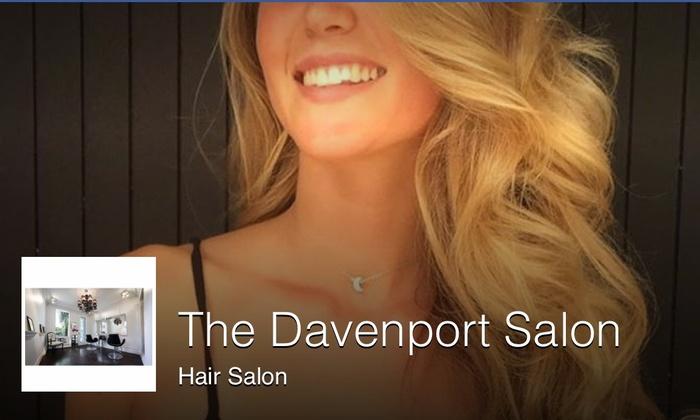 Davenport Salon - Davenport Salon: Up to 62% Off Hair Care Services at Davenport Salon
