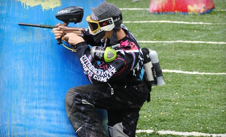 Package for 1, Including Admission, Unlimited Air, Rental Gun, and 200 Paintballs - Pittsburgh Paintball Sports Complex in Glenshaw