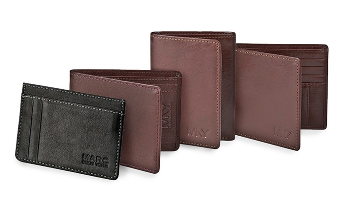 Marc New York by Andrew Marc Leather Wallet: Marc New York by Andrew Marc Leather Wallet