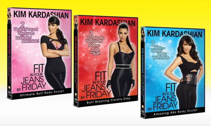 Kim Kardashian's Fit In Your Jeans By Friday DVDs: Kim Kardashian's Fit In Your Jeans By Friday DVDs. Multiple DVDs Available. Free Returns.