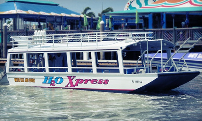 Water Taxi Express - Pons Grant: Water-Taxi Excursion for Two, Four, or Six from Water Taxi Express (Up to 53% Off)