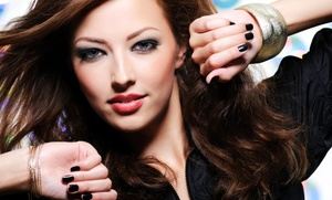 HWI Salon: Haircut and Conditioning with Optional Partial Highlights at HWI Salon (Up to 57% Off)