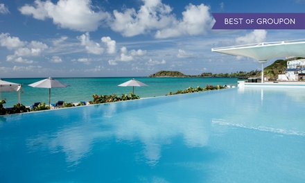 groupon daily deal - 4- or 7-Night All-Inclusive Stay at Sonesta Great Bay Beach Resort Casino & Spa in St. Maarten. Includes Taxes & Fees.
