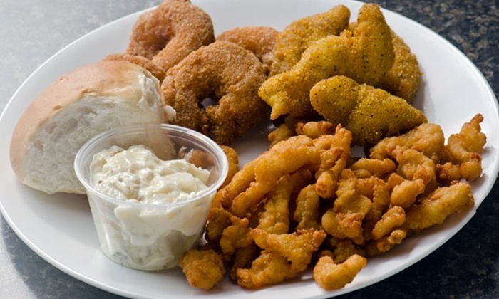 Lawrence's Fish and Shrimp - Armour Square: $13 for $20 Worth of Shrimp and Seafood at Lawrence's Fish and Shrimp