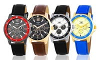 GROUPON: Gianello Men's Multifunction Diver's Watch Gianello Men's Multifunction Diver's Watch