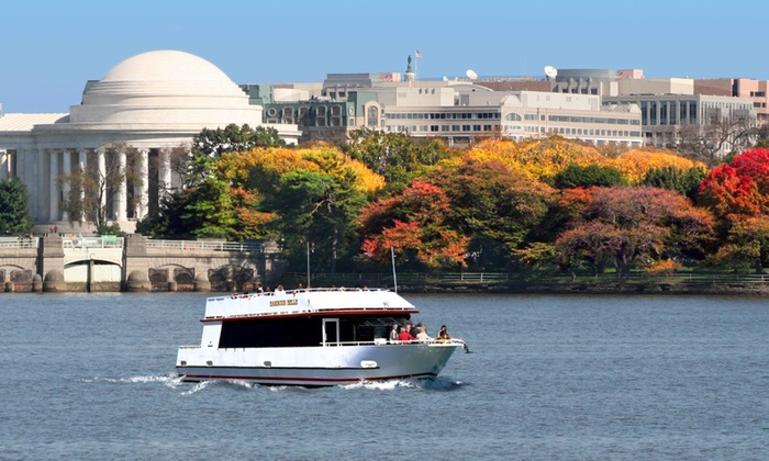 DC Cruises - DC Cruises: July Fourth Weekend Monuments Tour by Boat for One or Two from DC Cruises (42% Off)