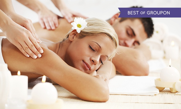 Choice of Couple's Massage with Optional One-Hour Seaweed Facial at Depilex Health & Beauty Clinic (Up to 68% Off)