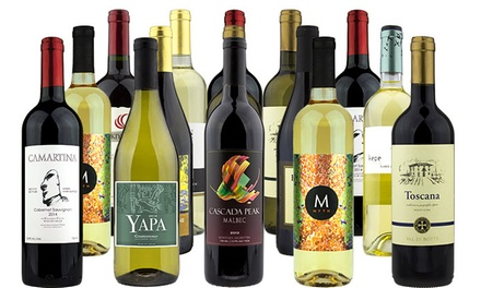 $65 for 15 Bottles of Premium Wine from Heartwood & Oak (Up to $310.85 Value)