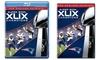 NFL Super Bowl XLIX Champions: New England Patriots on DVD or Blu-ray: NFL Super Bowl XLIX Champions: New England Patriots on DVD for $24.99 or Blu-ray for $29.99