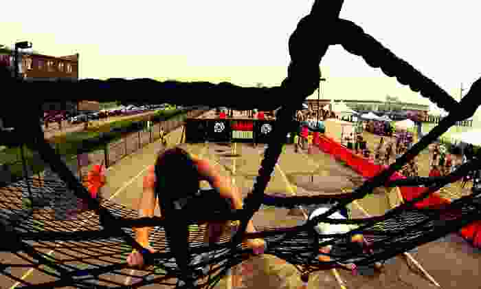Urban Raid - Times Union Center: Entry to Urban Raid Obstacle-Course 5K on Saturday, October 19, with Beer and Dri-Fit T-shirts for One or Two (53% Off)
