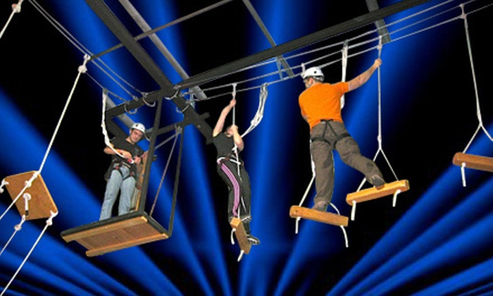 Bodies in Motion - Southeast Boise: Cosmic Ropes Course for Two or Four at Bodies in Motion (Half Off)