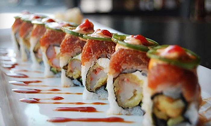 Big Eye Sushi Bar - North Scottsdale: $20 for Sushi Dinner for Two with Speciality Rolls, Edamame, and Sake at Big Eye Sushi Bar ($43 Value)