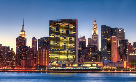 groupon daily deal - Stay at The DoubleTree by Hilton Hotel Metropolitan in New York City, with Dates into December