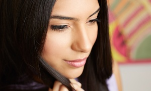 FGI SALON: Choice of Facial with Optional Full-Face Threading and Hair Treatment at FGI Salon (Up to 72% Off)