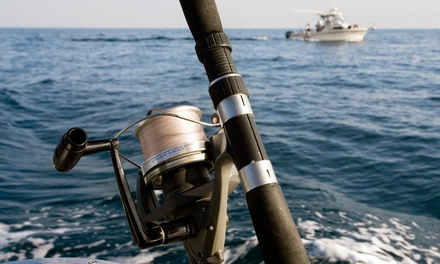 Full-Day Fishing Trip for Two from Sally T Fishing (50% Off). Two Options Available.