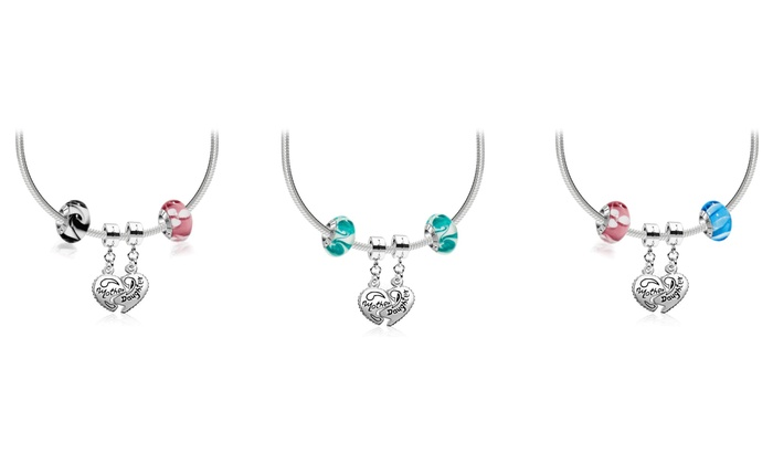 IRIS Beads & Charms: Mother Daughter Custom Pendant and Beads from Iris Beads and Charms