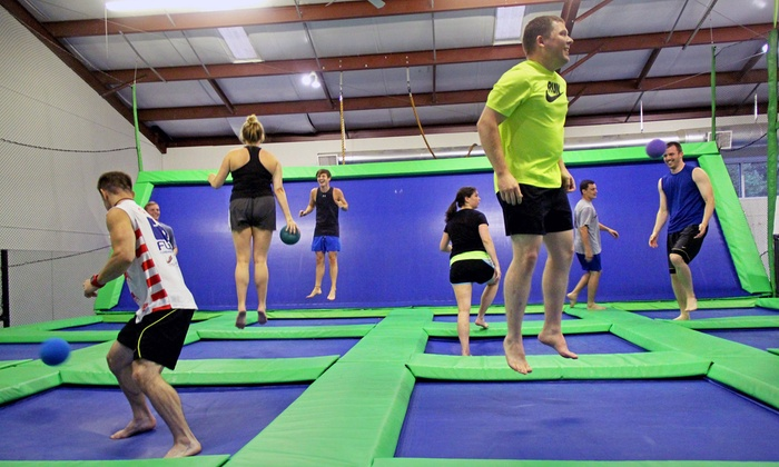 Aerofit - Athens-Clarke County unified government (balance): Three Open Jump Passes, or One or Three Months of Trampoline Fitness Classes at Aerofit (Up to 71% Off)