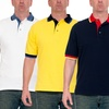 Men's Solid-Color Polo Shirts (2-Pack)