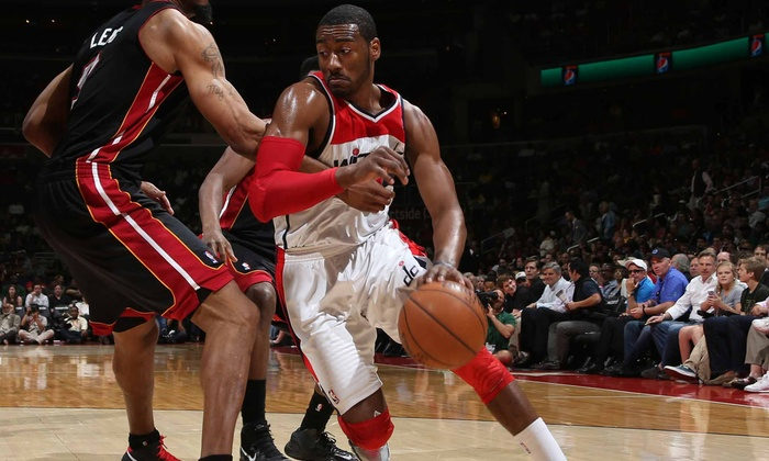 Washington Wizards - Verizon Center: Washington Wizards Game at the Verizon Center on January 17 or 20 (Up to 61% Off). Five Seating Options Available.
