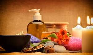 Cote d'Azur: 55-Minute Deep-Tissue Massage with Hot Stones, or 75-Minute Massage Package at Cote d'Azur (Up to 48% Off)