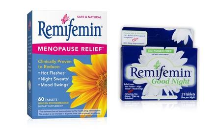 Menopause remifemin