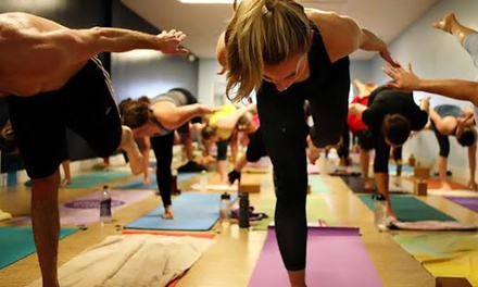 5 or 10 Yoga Classes or Month of Classes at Twisted Hot Yoga (Up to 66% Off)