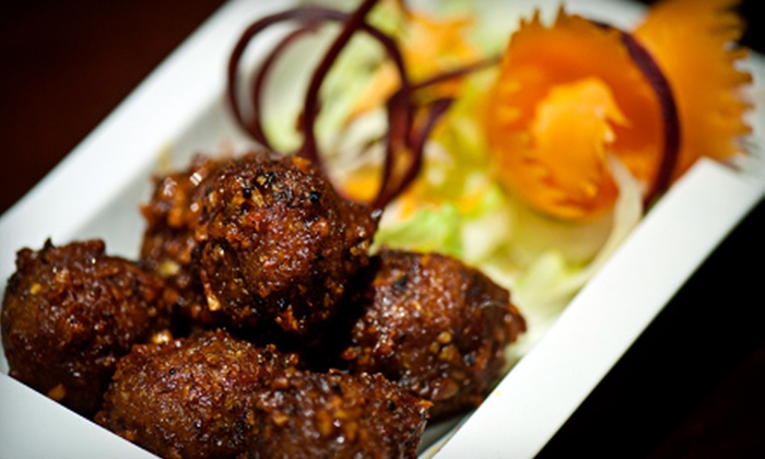Nawab Fusion Grill - Nawab Fusion Grill: $10 for $20 Worth of Indian-Asian Fusion Cuisine at Nawab Fusion Grill