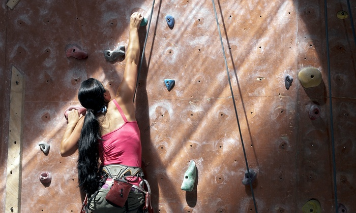 Vertical Dreams - Multiple Locations: Indoor Rock Climbing at Vertical Dreams (Up to 65% Off). Three Options Available.