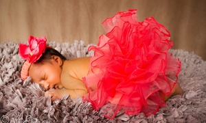 Vizzi Events & Photography, LLC: 120-Minute Newborn Photo Shoot from Vizzi Events & Photography, LLC (60% Off)