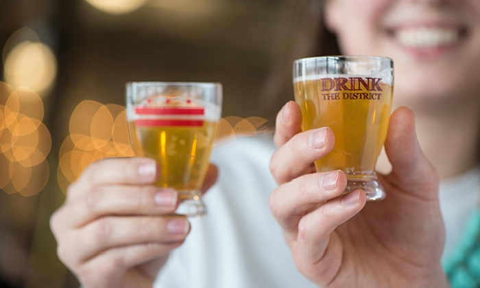 Hoppy Holidays by Drink the District - Dupont Circle: $29 for for a Session 1, 2, or 3 Ticket with Unlimited Beer and Cider at Hoppy Holidays by Drink the District ($50 Value)