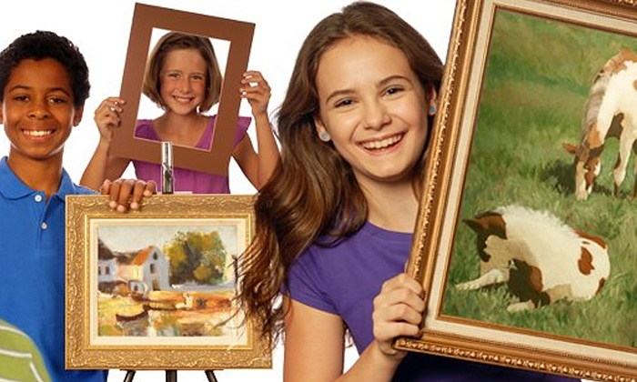 Mission: Renaissance - Multiple Locations: Introductory Painting and Drawing Classes for Kids, Teens, or Adults at Mission: Renaissance (Up to 71% Off)