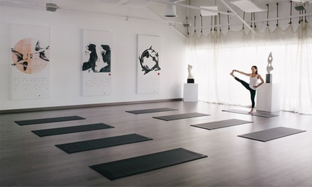 $25 for 10 Yoga Classes at You and the Mat / Piedmont School of Yoga ($175 Value)