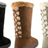 143 Girl Women's Faux-Fur-Trimmed Boots