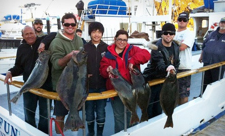 Five- or Nine-Hour Fishing Trip with Food Voucher from Dana Wharf Sportfishing (Up to 53% Off)